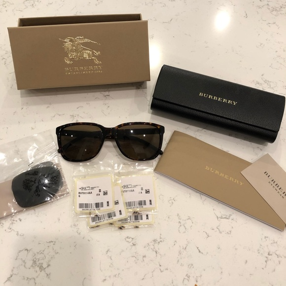 6a60e4d8f56e Burberry Accessories - Burberry BE4181 Sunglasses - Tortoise